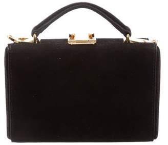 Mark Cross Suede Shoulder Bag