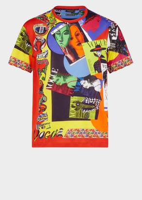 Versace Vogue Print Tribute T-shirt