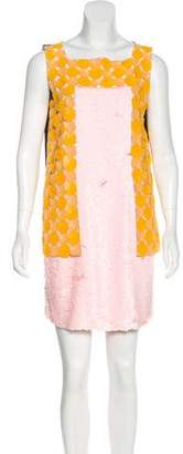 Fendi Sequined Shift Dress