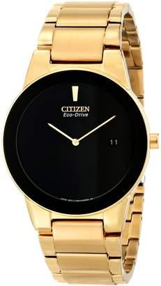 Citizen Men's AU1062-56E Axiom Analog Display Japanese Quartz Gold Watch