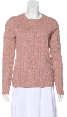 RED Valentino Wool Cable Knit Sweater