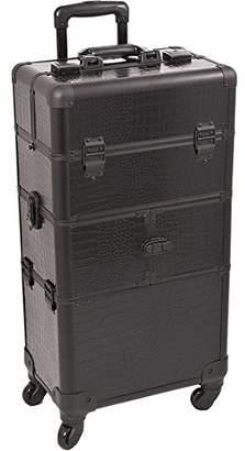 SUNRISE Makeup Case on Wheels 2 in 1 Professional Organizer I3264