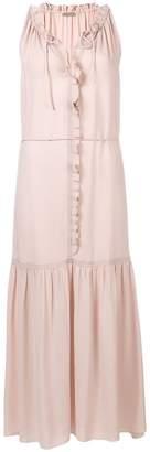 Bottega Veneta ruffle front dress