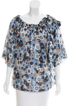 Chloé 2017 Floral Top w/ Tags