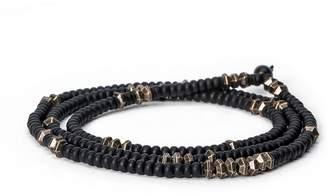 KENTON MICHAEL - Ghanan Glass w/ Scattered Metal Beads, 3 Layer