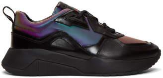 HUGO Black Iridescent Atom Running Sneakers