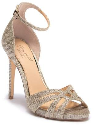 Badgley Mischka Loyal Glitter Sandal