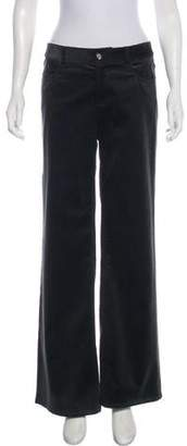 Celine Mid-Rise Corduroy Pants