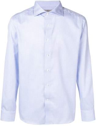 Canali Impeccabile checked shirt