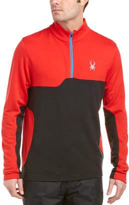 Spyder Pinnacle Half-Zip Mock Merino Sweater
