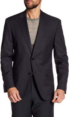 JB Britches Classic Fit Two Button Side Bend Wool Sportcoat