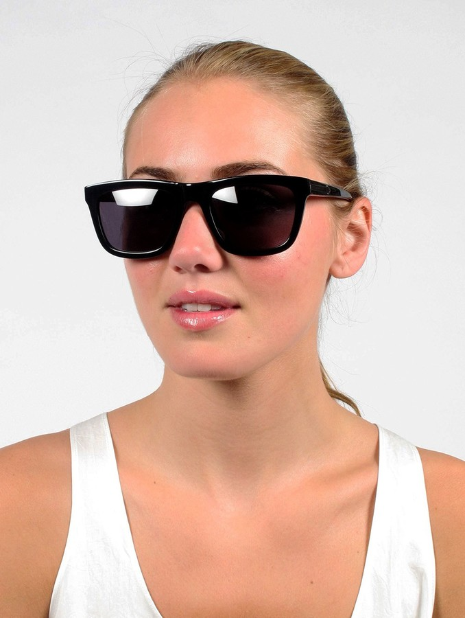 Karen Walker Black Deep Freeze Sunglasses
