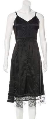 Marc Jacobs Lace-Trimmed Slip Dress w/ Tags