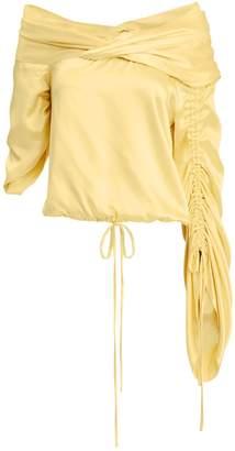 4be3b722775e3 Hellessy Sunshine Asymmetrical Silk Top