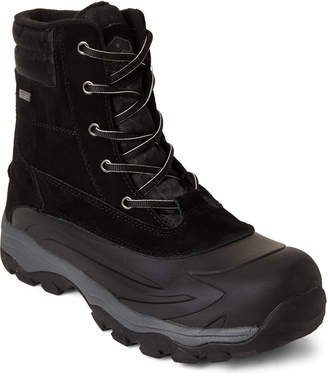 Khombu Black Forrest Lace-Up Waterproof Boots