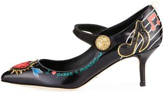 Dolce & Gabbana Heart Mary Jane Pumps