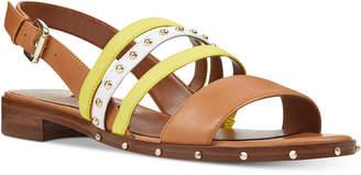 Nine West Chaylen Studded Flat Sandals Women's Shoes