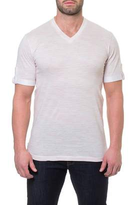 Maceoo V-Neck Static Tee