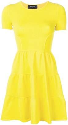DSQUARED2 shortsleeved flared dress