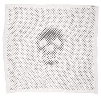 Alexander McQueen Printed Silk Scarf