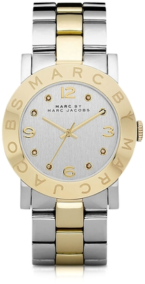 Marc by Marc Jacobs Amy 36 MM Two Tone Stainless Steel Women's Watch $200 thestylecure.com