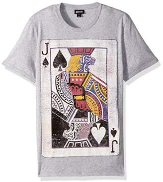 Just Cavalli Men's Jack Card T-Shirt