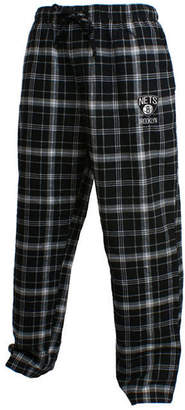 Concepts Sport Men's Brooklyn Nets Homestretch Flannel Sleep Pants
