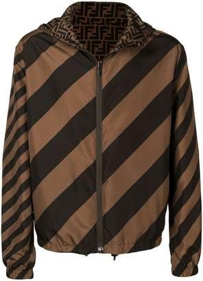 Fendi reversible windbreaker jacket