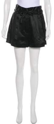 Marc Jacobs Linen-Blend Mini Shorts