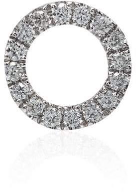 Loquet 18kt white gold Give A Hug diamond charm