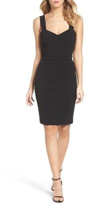 Women's Betsey Johnson Crepe Sheath Dress $98 thestylecure.com