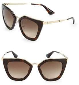 Prada 52MM Cat-Eye Sunglasses