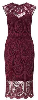Next Lipsy VIP Lace Midi Dress - 8