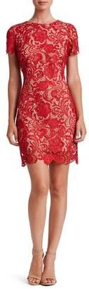 Dress the Population Anna Crochet Lace Sheath Dress