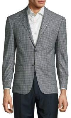 Michael Kors Check Wool Sportcoat