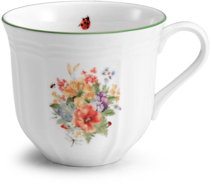 Antique Garden Tea Cup