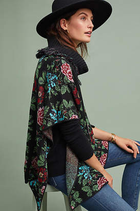 Aldomartins Antique Florals Poncho