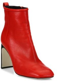 Rag & Bone Ellis Lamb Leather Ankle Boots $595 thestylecure.com