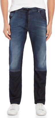 Diesel Two-Tone Krooley Stretch Slim Jeans
