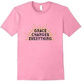 Grace Changes Everything Christian Light T-Shirt