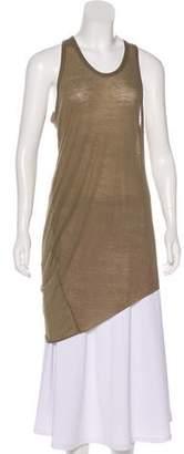 Helmut Lang Sleeveless Asymmetrical T-Shirt