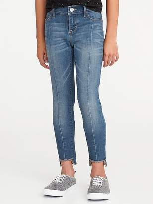 Old Navy Center-Seam Step-Hem Rockstar Jeggings for Girls