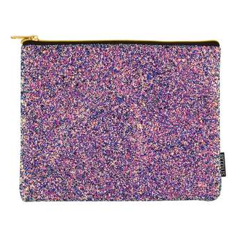 Fashion Angels S.Lab Chunky Glitter Pouch-Midnight