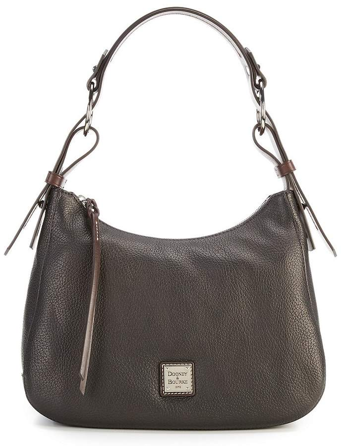 Dooney & Bourke Becket Collection Riley Hobo Bag - BLACK - STYLE