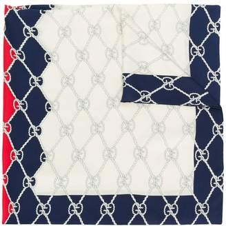 Gucci Rhombus print scarf