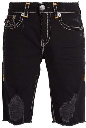 True Religion - Ricky Denim Shorts - Mens - Black
