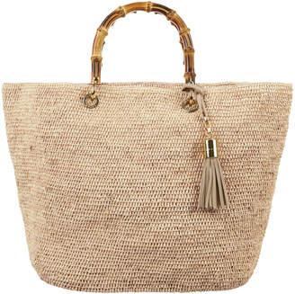 Heidi Klein Savannah Bay Medium Raffia Tote Bag