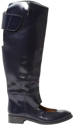 Acne Studios Leather riding boots