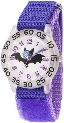 Disney Girls Purple Strap Watch-Wds000414