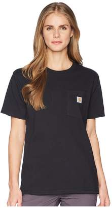 Carhartt WK87 Workwear Pocket Short Sleeve T-Shirt Women's T Shirt